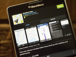 BlackBerry rolls out bug fix update for Maps