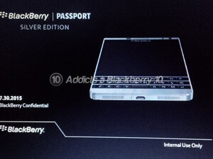 BlackBerry Passport Silver Edition coming soon