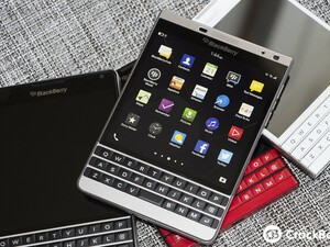 BlackBerry Passport was released one year ago today