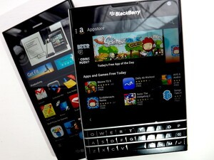 BlackBerry World - winning over the Android stores