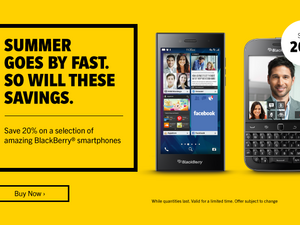 Select BlackBerry 10 smartphones now over 20% off