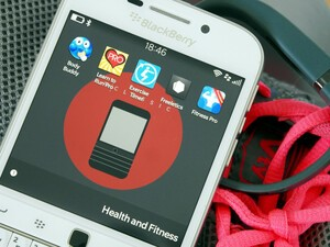 A round up of 5 fitness apps for BlackBerry 10
