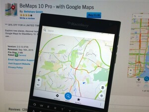 BeMaps 10 Pro gets a huge update