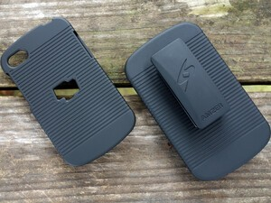 BlackBerry Q10 case and holster is $4.95 today!