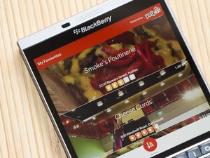 Search for Yelp offers quick access to Yelp listings on BlackBerry 10