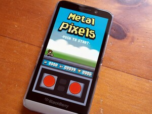 Metal Pixels - new game for BlackBerry 10