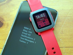 Hub2Watch update includes a new color watchface