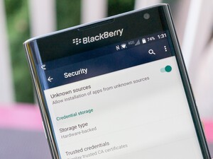 Enable app sideloading on your BlackBerry Priv