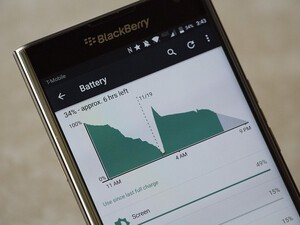 Tips and tricks to extend your BlackBerry Priv battery life!