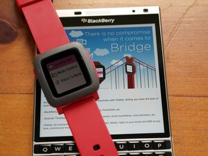 Bridge gives you notifications via Pebble Android app