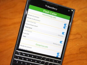 Get flashing alerts for incoming calls