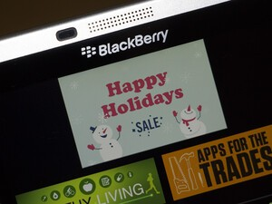 BlackBerry World celebrates the holidays with huge app sale!