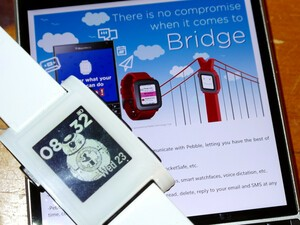 Bridge update brings support to original Pebble smartwatch