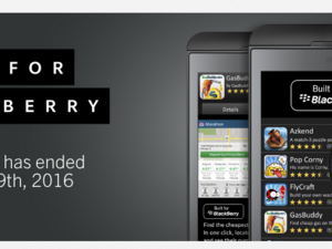 The Built for BlackBerry program has ended