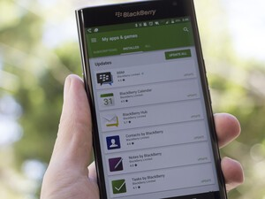 BlackBerry apps for the Priv updated in Google Play