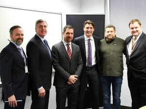 BlackBerry gets a visited by Canada's Prime Minister Justin