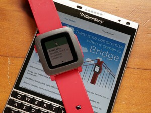 Bridge can now send your BBM messages to Pebble