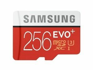 Samsung's EVO Plus 256GB microSD card announced
