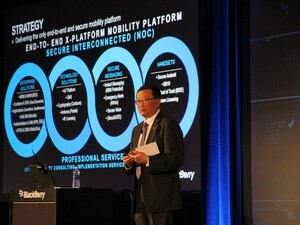 John Chen's keynote from the BlackBerry Security Summit