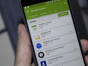 October BlackBerry Android software updates