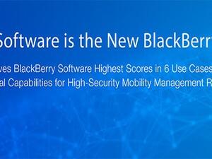 Gartner gives BlackBerry software high scores