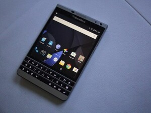 BlackBerry Passport Silver Edition running Android for sale
