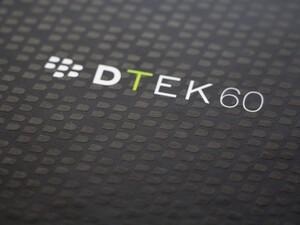 BlackBerry DTEK60 hands-on