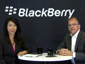 BlackBerry COO Marty Beard discusses DTEK60 and more!