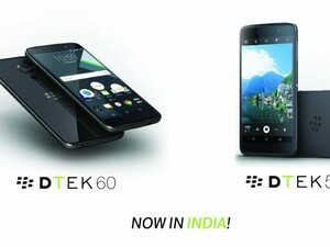 BlackBerry announce the DTEK50 and DTEK60 in India