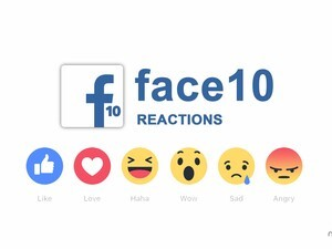 Face10 update adds Facebook reactions feature and improves app performance