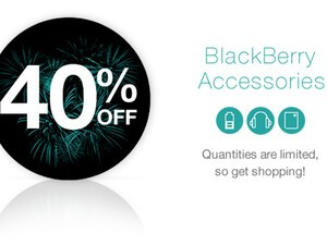 ShopBlackBerry offering 40% off all BlackBerry accessories