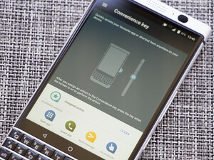 Is the BlackBerry Convenience Key convenient?