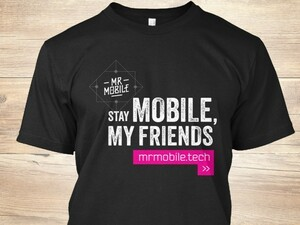 Last chance to get this limited edition MrMobile tee!