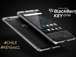 BlackBerry KEYone now available from Movistar in Chile