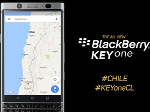 BlackBerry KEYone will be available in Chile starting in September