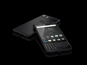 BlackBerry KEYone Black Edition arrives at Selfridges retail shop Sept. 14