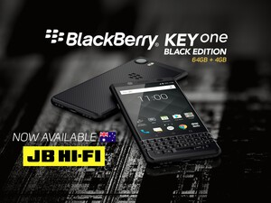 BlackBerry KEYone Black Edition now available from JB Hi-Fi!