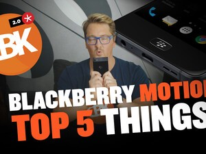 BlackBerry Motion - Top 5 Features I'm Loving So Far!