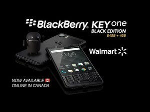 BlackBerry KEYone Black Edition now available from Walmart Canada!