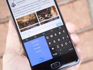 BlackBerry Keyboard beta introduces new 'SlideBoard' feature