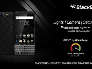 Optiemus launches the BlackBerry KEYone Limited Edition Black in Sri Lanka