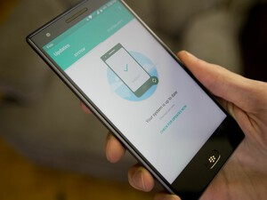 How to update software on the BlackBerry Motion
