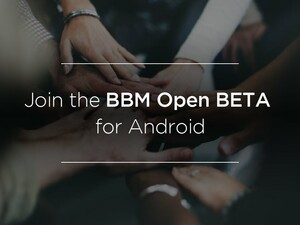 Want to try out the latest BBM for Android? You can now join the open beta!