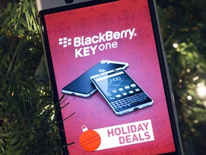 Get a great holiday deal on the BlackBerry KEYone right now!