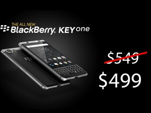 Amazon and Best Buy reduce BlackBerry KEYone pricing to $499.99