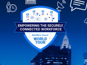 BlackBerry announces BlackBerry Secure World Tour events