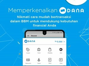 BBM launches 'DANA in BBM' mobile wallet for Indonesia