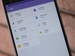 How to use the Files app on the BlackBerry Motion