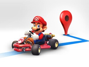 You can now have Mario guide you around town in Google Maps