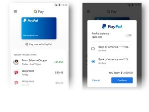 PayPal announces deeper integration with Google Pay